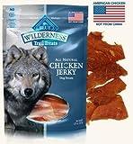 3 Bags – Blue Buffalo Wilderness Chicken Grain Free Dog Jerky Treats – Made in USA Review