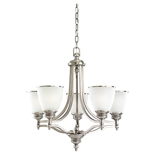 Five Light Laurel Leaf Chandelier ()