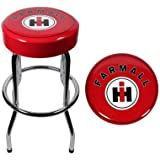Diesel Power Plus Ih Farmall Garage Stool Ih Farmall International Harvester Tractor Bar Stool Chair Shop