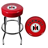 Ih Farmall Garage Stool Ih Farmall International Harvester Tractor Bar Stool Chair Shop Bench Garage New