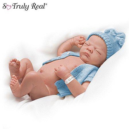 Linda Webb Charlie Anatomically Correct So Truly Real Lifelike Baby Doll by Ashton Drake アシュトンドレイク 人形 ドール 【並行輸入】