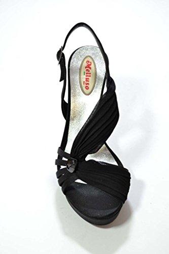 Donna Nero Scarpe J146 Sandali Melluso 6w4q0x