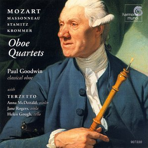 Plays Oboe Quartets By Mozart, Krommer & Stamitz