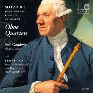 Plays Oboe Quartets By Mozart, Krommer & Stamitz