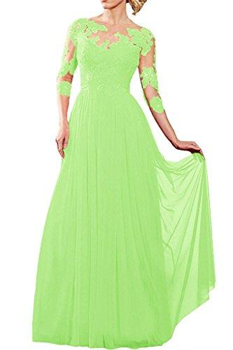 Vestido Verde trapecio Topkleider para mujer g0xd0nwAq6