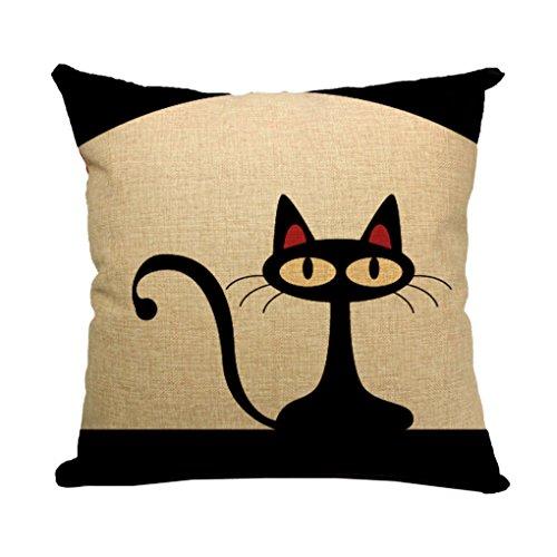 FakeFace Cartoon Decorative Pillowcases Slipcover