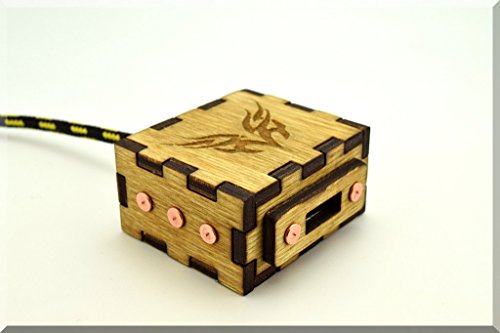 Handmade Unique Wooden USB Cable Extention with durable knit nylon cable. Game Gadget ####### (Tags: Wood Handwork Extention Extender Prolongator Gadget USB HUB Device )