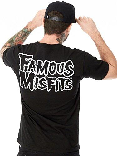"Famous Stars and Straps Misfits Badge Kurzarm T-Shirt - Grö - Med / 36-39"" Chest"