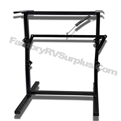 ToughGrade ''SNAP 2'' - Black Folding Table Leg/Bed Base