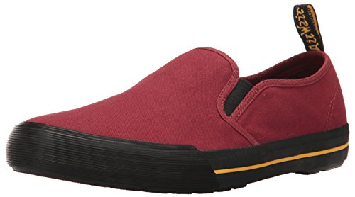 Dr. Martens Men's Toomey Slip-On Loafer Cherry Red looking for online i71R9Q
