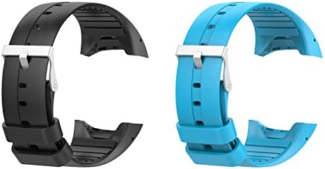 For Polar M430 Bands, 2x Replacement Silicone Wristbands ...
