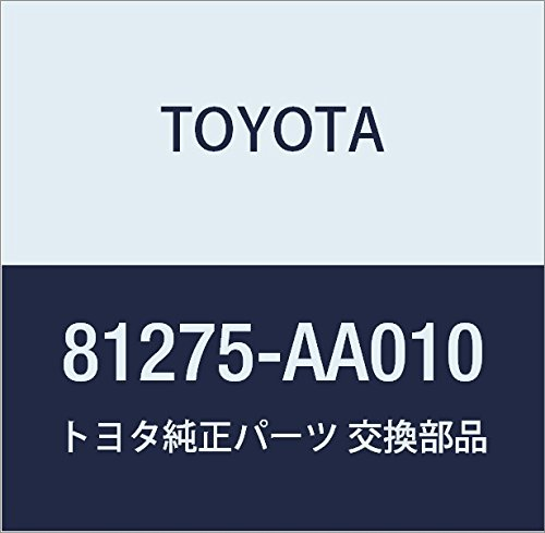 Toyota 81275-AA010 License Plate Lamp Socket and Wire