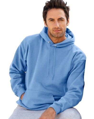 UPC 766369216376, Hanes Men's Ultimate Cotton Pullover Hoodie Sweatshirt, Carolina Blue,Large