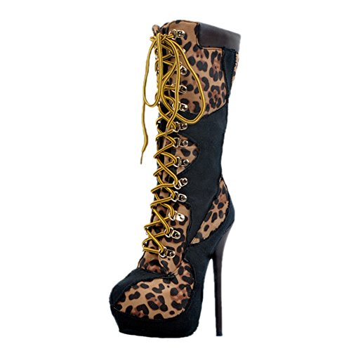 EKS - Botas Mujer leopardo