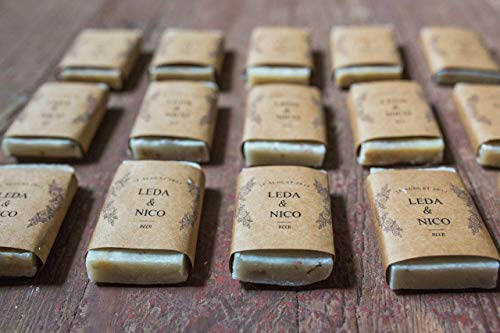 - Soap Favors Personalized for Wedding or Shower