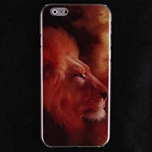 Red Lion Design Hard Cover Case for iPhone 6 Plus