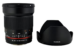 Rokinon RK24M-MFT 24mm F1.4 ED AS IF UMC Wide Angle Lens for Olympus and Panasonic Micro 4/3-MFT Mount Digital Cameras, Black (B00JD4T7US) | Amazon price tracker / tracking, Amazon price history charts, Amazon price watches, Amazon price drop alerts