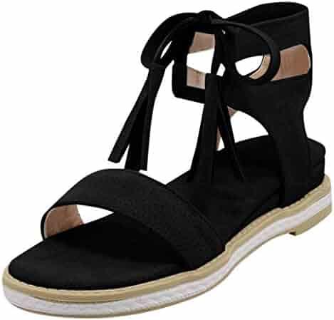70bae460cf111 Shopping Green - 🔥YEZIJIN🔥 - Flats - Sandals - Shoes - Women ...