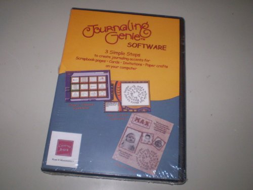 Journaling Genie - 3 Simple Steps to create Journaling Accents
