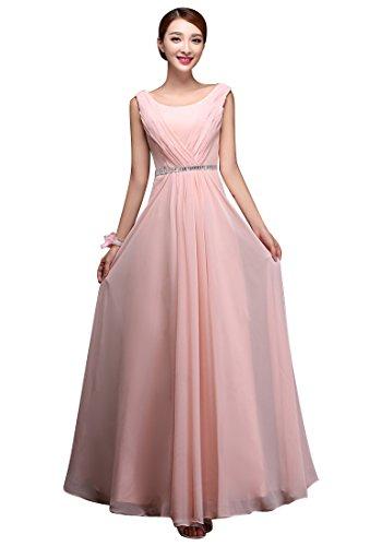 BeautyEmily Multile Stil Chiffon Kleider lange AbendParteiKleider ...