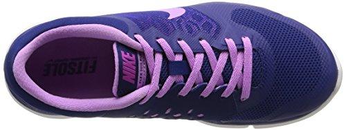 Nike Herren Wmns Flex 2015 RN Niedrig-Top mehrfarbig (Dp Ryl Bl/Fchs Glw-Fchs Flsh-W)