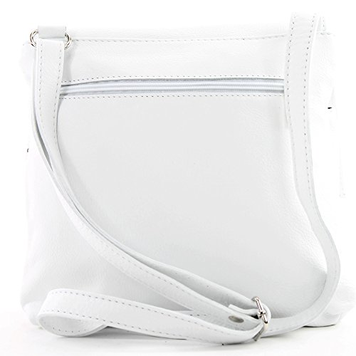shoulder Italian T63 White leather messenger satchel bag bag women's real bag 5q6wOnAq