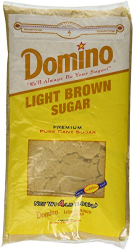 Domino Light Brown Sugar - 4lb Resealable Bag