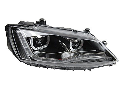 GOWE Car Styling For vw jetta headlights For VW jetta MK6 head lamps with LED guide car styling bi xenon lens parking Color Temperature:6000K;Wattage:35K 1