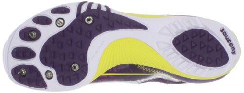 Chaussures De Course Shake Xc3 Spike Pour Femme Saucony Violet / Jaune