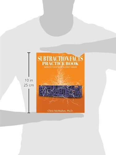 Subtraction Facts Practice Book: Improve Your Math Fluency Series ...