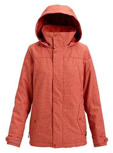 Glove Burton Snowboard Womens (Burton Women's Jet Set Jacket, Hot Sauce, Small)