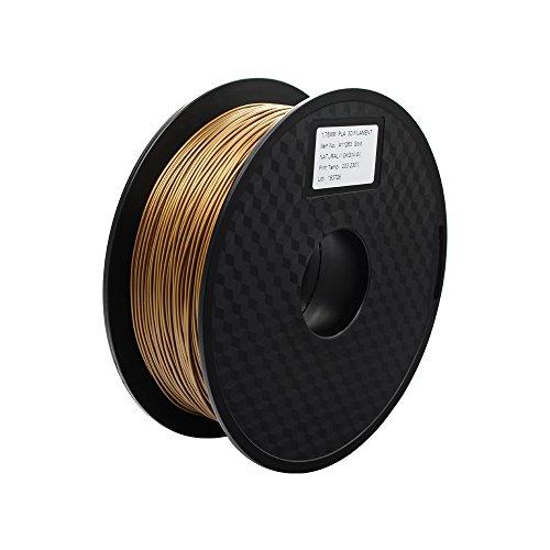 Anycubic 3D Printer PLA Filament für 3D Drucker - 1,75mm - 1kg Spule (Golden)