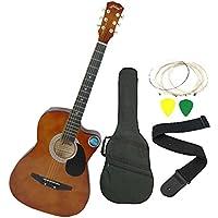 Jixing Acoustic Guitar, Brown