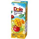 Doleマンゴーフルーツミックス100% 200ml×18本
