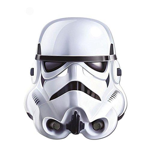 Stormtrooper Card Face Mask (Stormtrooper Mask)