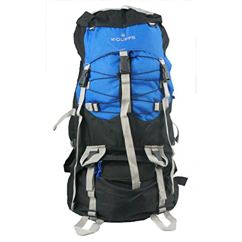 Hiking Backpack 7000 cubic Inch Internal Frame Large Camping Backpack Scout Daypack Outdoor Mountain Travel Bag w Rain Cover
