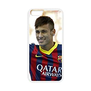 iPhone 6 Plus 5.5 Inch Cell Phone Case White Neymar TV0723633