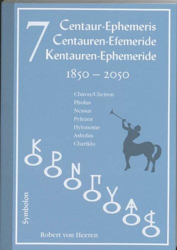 Download 7 Centaur Ephemeris pdf epub