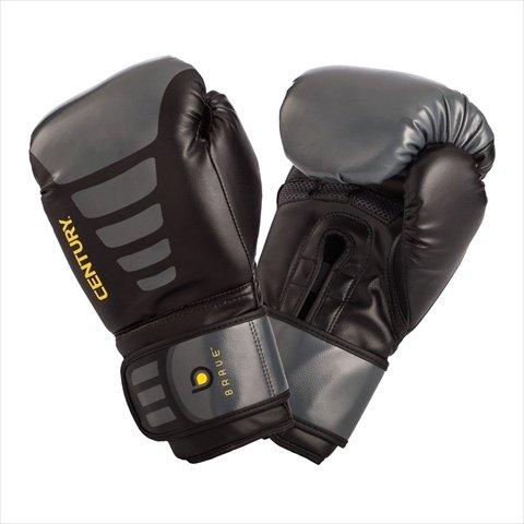 Century 147005P-039716 Brave Boxing Gloves, Black/Grey
