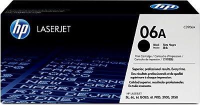 HP C3906A Laserjet 06A Cartridge - Retail Packaging - Black