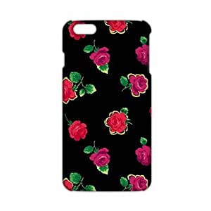 Charming flowers 3D Phone Case for iPhone 6 plus