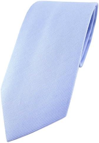 TigerTie - Corbata - Liso - para hombre azul Talla única: Amazon ...