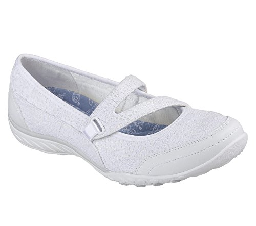 Jane Donna Breathe easy Skechers pretty Mary White Swagger OAxcBv