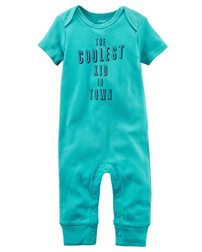 Carter's Baby Boys' Coolest in Town Jumpsuit, 24 Months