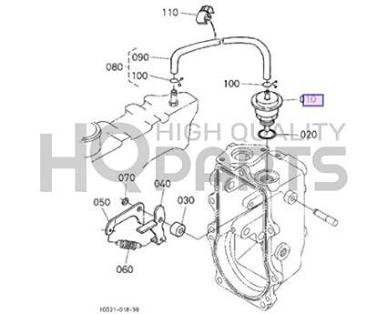 Amazon Com Genuine Oem Kubota Assy Actuator 1c040 54070 Garden