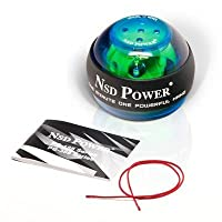 NSD Power® E-Sound Spinner Gyroscopic Wrist and Forearm Exerciser with Sound Generator