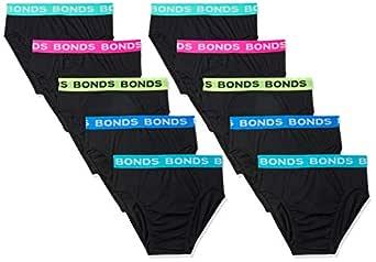 Bonds Men's Hipster Brief, Multicoloured, Small