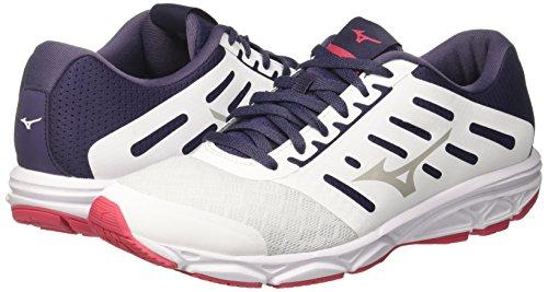 34 Zapatillas lunarrock white divapink Ezrun Mizuno Mujer Wos Para De Running Multicolor qaPTpx