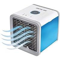 Arctic Air – mobiele aircooler met waterverdampingsfilter – mini ventilator met 3 koelniveaus en 7 moodlights…