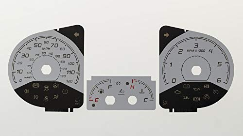 Viviance 2 Inch 52mm Water Temp Temperature Gauge For Car Truck Motorcycle